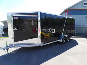 ONE ONLY - 7X23 EXTRA HEIGHT SNOWMOBILE TRAILER Kingston Kingston Area image 1