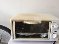 Danby microwave and a toaster oven