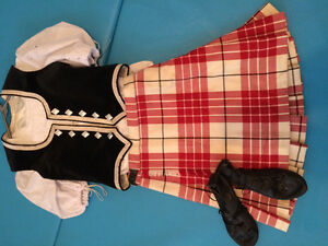 Traditional Highland Dance Outfit