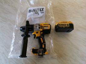 Dewalt DCD996 3 speed hammer drill, 18v XR, including battery