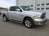 "2014 Ram "" Big Horn "" Crew cab 4x4 w/8 Speed automatic!!!"
