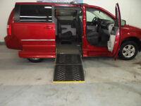2008 Dodge Grand Caravan,Caravan adapté,adapte,adaptée,handicape