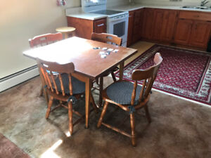 Teak Expandable Kitchen Table