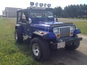1989 Jeep   YJ  6.2 LITRE 425 HP