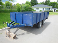 Superduty tandum trailer ****REDUCED*****