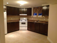 BEAUTIFUL Luxurious 2 BEDROOM basement apartment for rent!!