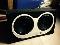 "MB QUART SUBS. 2 X 12"" IN BOX"