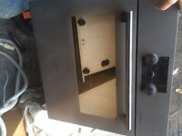 600 mm square built in oven fan like new
