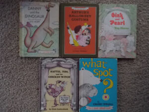"5 Vintage Weekly Reader Books (Harper & Row) ""An I Can Read Book"