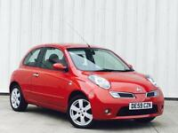 2009 Nissan Micra 1.2 16v ( 79bhp ) n-tec SAT NAV PX SWAP FINANCE AVAILABLE