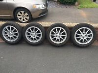 Alloy wheels x 4 - nearly new