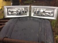 Iveco daily headlights.