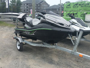 FRESH TRADE IN 2015 KAWASAKI ULTRA 1500CC LX WITH 41HOURS $8500.