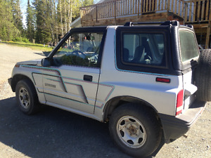1991 Chevrolet Tracker paint Other