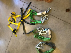 Miller by Honeywell safety harness and lanyards