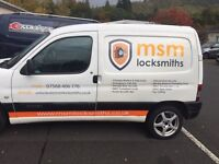 msm locksmiths based in Edinburgh covering the Lothians, 24hours