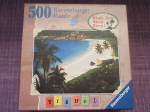 Ravensburger 500 Piece puzzle - Tropical Paradise