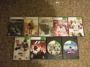 XBOX 360 (60 GB HDD), WITH 19 GAMES Strathcona County Edmonton Area image 3
