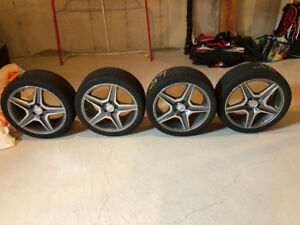 Mercedes-AMG Winter Rims and Tires