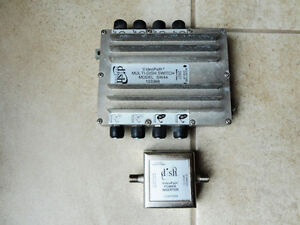 SW44 Multi Satellite Dish Switch & Video Path Power Inverter