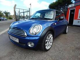 2008 Mini Hatchback 1.6 Cooper 3dr Just had new clutch,1 former keeper,2 keys...