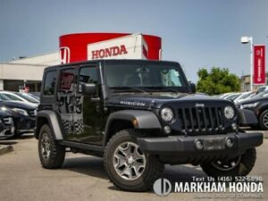 2017 Jeep WRANGLER UNLIMITED Rubicon- NO ACCIDENTS|1OWNER|2TOPS|