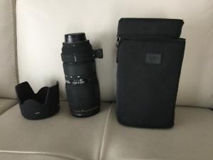 Objectif Sigma 70-200mm  F 2.8 pour Nikon