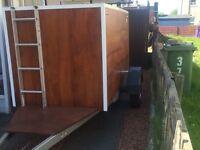 8x4 box trailer