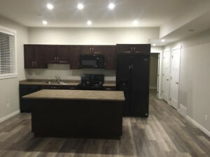 One Bedroom Basment Suite Available July 1