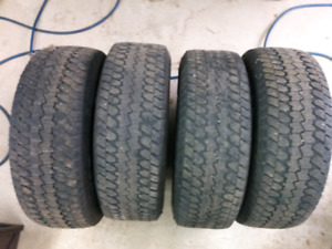 Goodyear Wrangler AT/S LT 275/65R18 tires