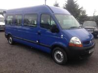 Renault MASTER LM35 DCI wheelchair lift 11 seater