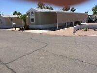 2013 2 bedroom mobile home for rent in Mesa Az