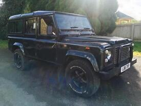 1994 Land Rover Defender 200Tdi County Station Wagon, High back seats