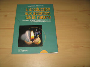 Introduction aux sciences de la nature:  livre scolaire