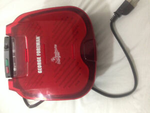 George Foreman Grill and Toast and Steel Fruit Basket