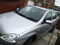 Vauxhall corsa comfort 1200