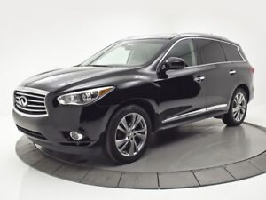 2013 INFINITI JX35 ***DELUXE***TVDVD***CAM NAV CUIR TOIT MAGS