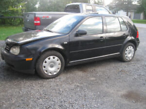 Golf TDI For Parts