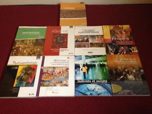 Science Humaine : Livres à vendre (Cégep)