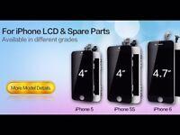 IPHONE LCD SCREEN BLACK OR WHITE REPAIR
