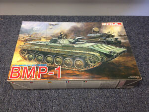 1/35 DML BMP-1 and 2E models, Tamiya  Type 90