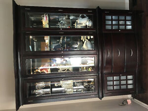 Dark Hutch/China Cabinet