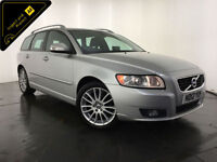 2012 VOLVO V50 SE LUX EDITION DRIVE DIESEL 1 OWNER SERVICE HISTORY FINANCE PX