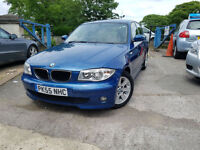 2006 55 Reg BMW 116 1.6 i SE,5 DOORS ,MANUAL,BLUE