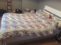 Double bed with mattress £80