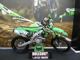 Kawasaki KXF 450 Motocross bike finance available!!!