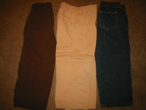 Boys Size 4 Pants and Button up Shirts
