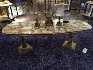 MARBLE COFFE TABLE 1 of a KIND