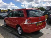 2011 VAUXHALL ZAFIRA 1.6i [115] Energy 5dr MPV 7 Seats