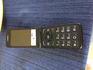 Alcatel cell flip phone for sale